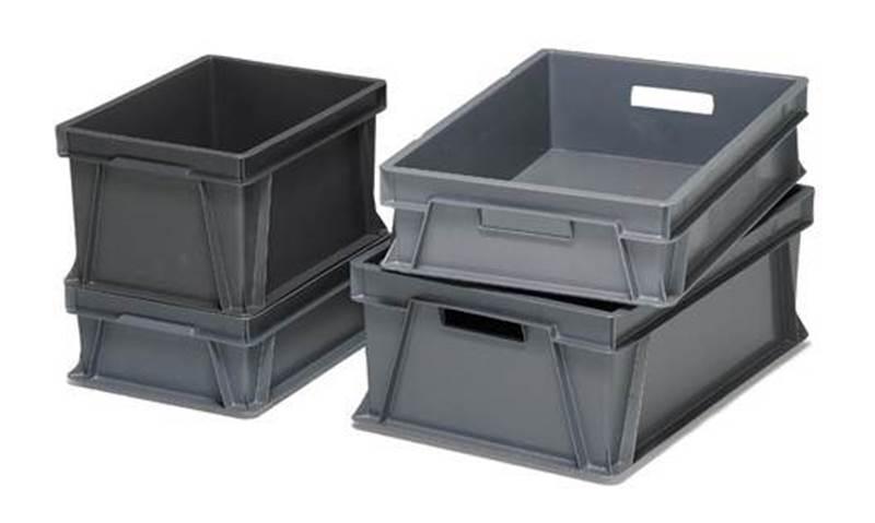 Stabelbar boks, Arca system, 100 % resirkulert plast