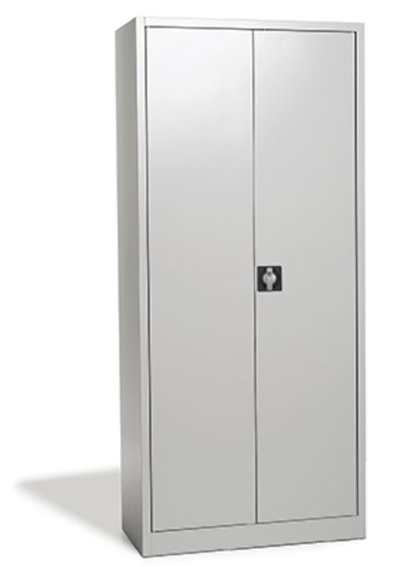 Plåtskåp Siljan, BxDxH 920x420x1950 mm, grå