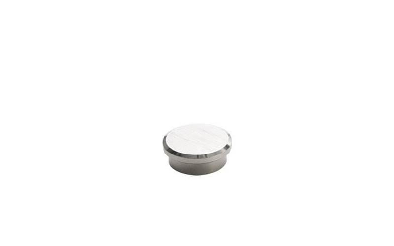 Kraftige magneter til glastavle, med gribekant, Ø 25 mm, 10 stk/pk