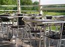 Cafébord Alfie, 700x700 mm