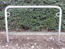 Cykelställ Heidrun, U-form, fastgjutning, BxH 1250x1150 mm