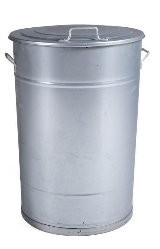 Ståltønne 160 liter, galvanisert