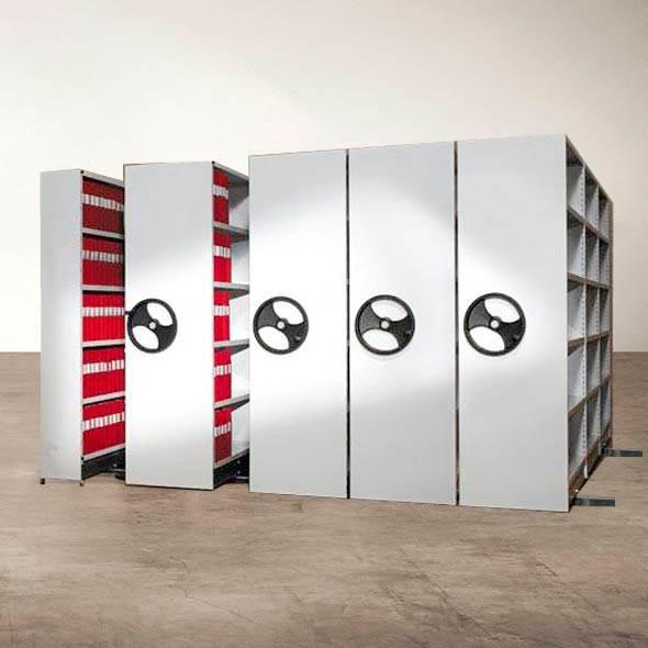 Bild för kategori Kompaktarkiv, Rullarkiv & Pärmförvaring
