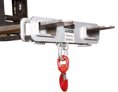 Lyftkrok till gaffeltruck, Max gaffeldimension 150x60 mm
