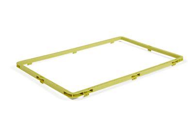 Kantlist Click Booster till Plastback Euroback Click, 600x400 mm, 10 st eller fler