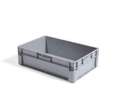 Plastback Euroback, 32l LxBxH 600x400x175mm PP Euroclick 10st eller fler