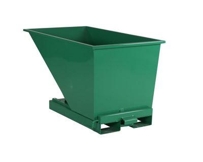 Tippcontainer Argos 600 L, LxBxH 1525x865x870 mm, grön
