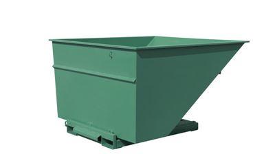 Tippcontainer Argos 2500 L, LxBxH 2073x1566x1248 mm, grön