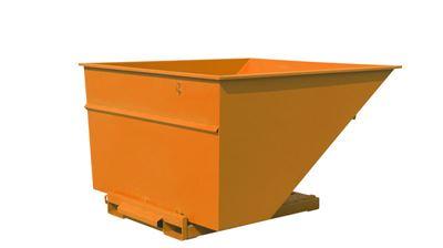 Tippcontainer Argos 2500 L, LxBxH 2073x1566x1248 mm, orange