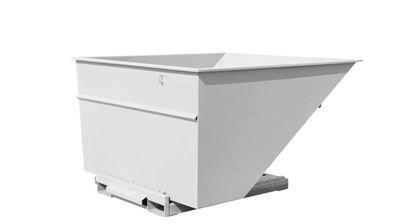 Tippcontainer Argos 3000 L, LxBxH 2073x1866x1248 mm, vit