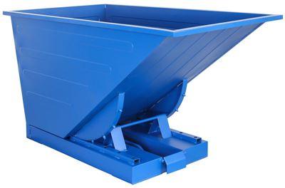 Tippcontainer Helios 600 L, LxBxH 1525x865x870 mm, blå