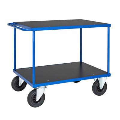 Rullvagn Industri Geran, LxBxH 1100x700x870 mm, blå