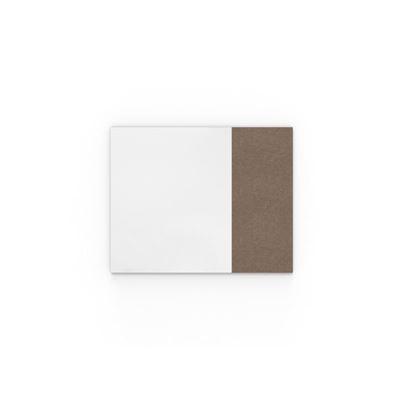 Whiteboard Lintex Air Textile, BxH 1580x1190 mm, brun