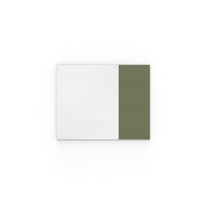 Whiteboard Lintex Air Textile, BxH 1580x1190 mm, grön