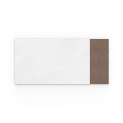 Whiteboard Lintex Air Textile, BxH 2580x1190 mm, brun
