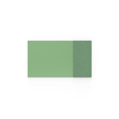 Whiteboard glas Mood Fabric, BxH 1750x1000 mm, grön