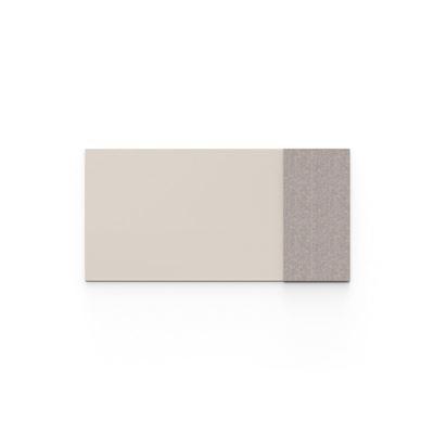 Whiteboard glas Mood Fabric, BxH 2000x1000 mm, beige/brun