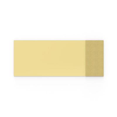 Whiteboard glas Mood Fabric, BxH 2500x1000 mm, gul