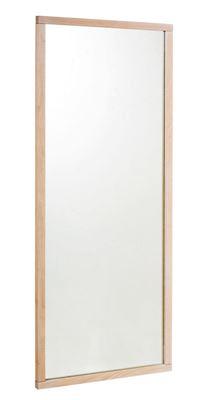 Spegel Karin, HxB 1500x600 mm, vitpigmenterad ek