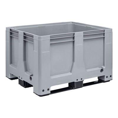 Pallcontainer Big Box, 610 liter, med 3 medar