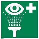 Nödskylt, efterlysande, ögondusch, 150x150 mm, aluminium, 10 st/fp