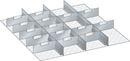 Avdelarsats till Verktygshurts Lista, H 200 mm, LxB 717x725 mm