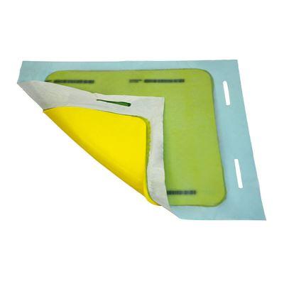 Brunnstätning med förvaringsväska, kvadratisk, LxBxH 900x900x8 mm, 2 st eller fler