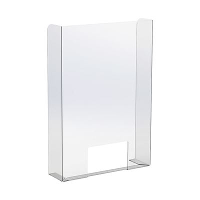 Hostskydd Sira, stående, BxDxH 756x130x880 mm, transparent