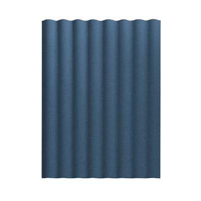 Väggabsorbent Scala, vertikal, LxBxD 1207x2300x60 mm, blå