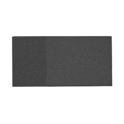 Väggabsorbent Triline, med beslag, LxBxD 400x800x95 mm, svart