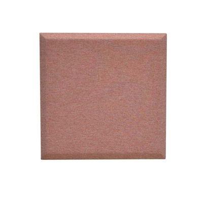 Väggabsorbent Domo, kvadratisk, LxB 600x600x34 mm, ljusrosa