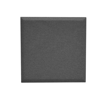 Väggabsorbent Domo, kvadratisk, LxB 600x600x34 mm, mörkgrå