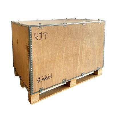 Plywoodlåda, medar, hopfällbar, LxBxH 580x380x380 mm, 20 st eller fler